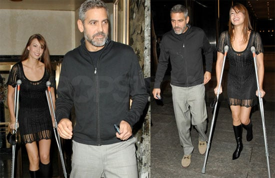 Clooney's Girlfriend Was One Of Vegas' Finest