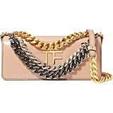 Tom Ford Triple Chain Leather Shoulder Bag