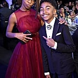 Pictured: Marsai Martin and Miles Brown