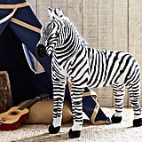 Faux Fur Jumbo Zebra Plush ($99)