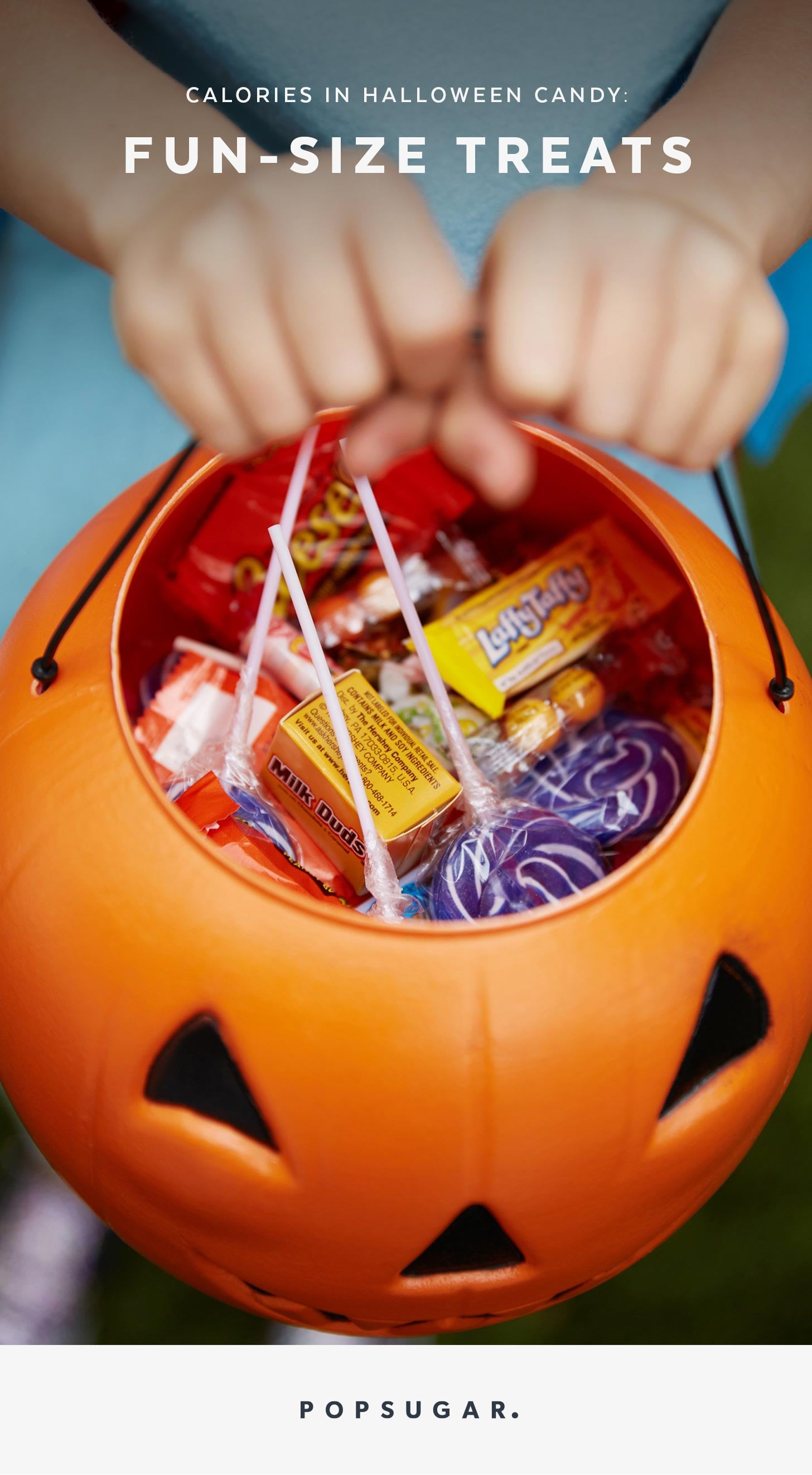 calories in halloween candy: fun size treats | popsugar fitness
