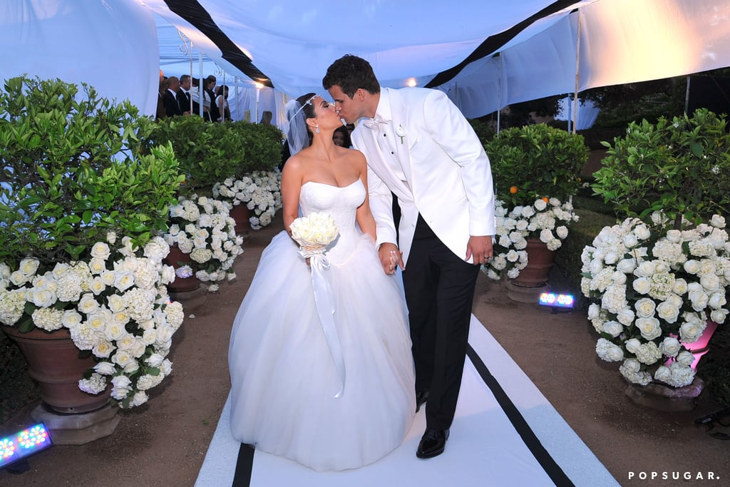 Kim Kardashian Wedding Pictures With Kris Humphries | POPSUGAR Celebrity