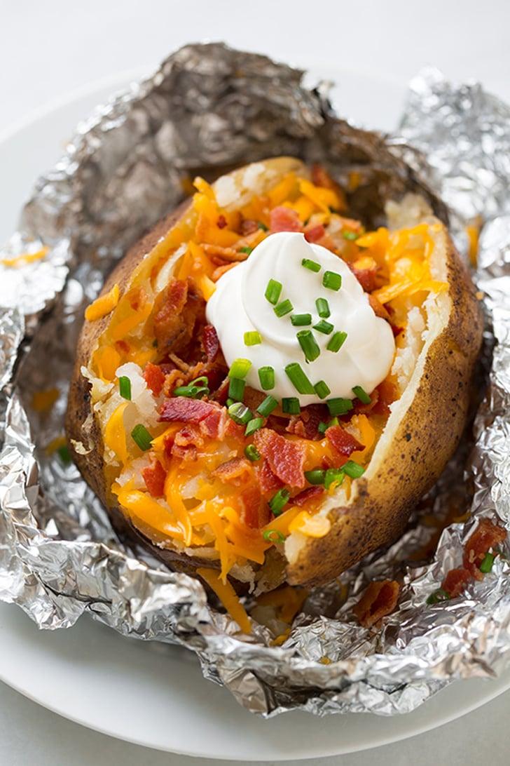 Slow-Cooker Baked Potatoes | Easy Side Dish Recipes | POPSUGAR Food ...