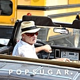 Bill Murray shot scenes for St. Vincent de Van Nuys on Monday in Brooklyn, NY.