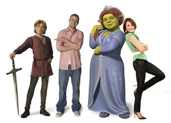 Cammie and JT Reunite... for Shrek 3!