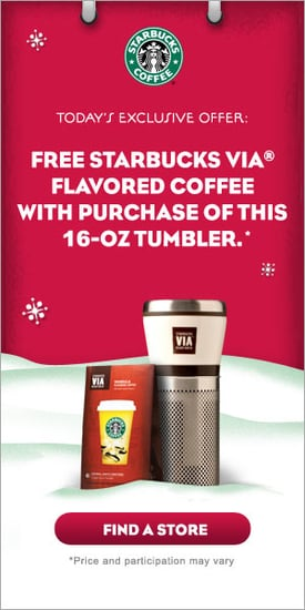 Starbucks Presents 12 Days of Sharing