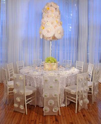 DIY: Paper Wedding Table Settings