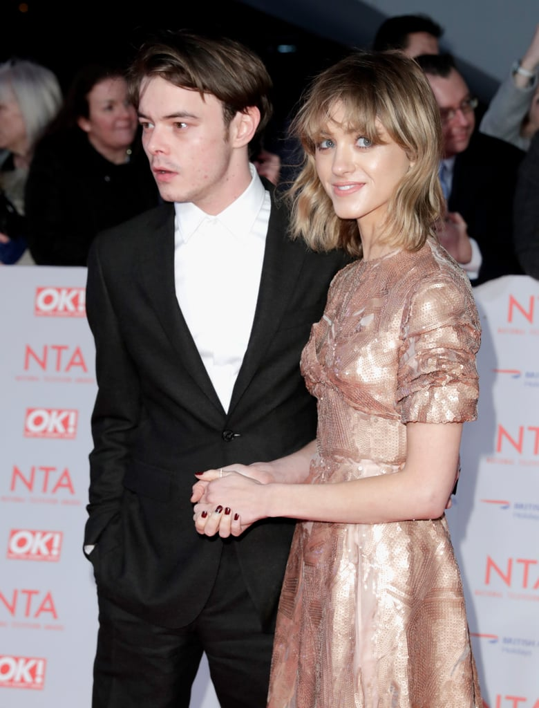 9548629f968f Charlie Heaton and Natalia Dyer at the NTA Awards 2018