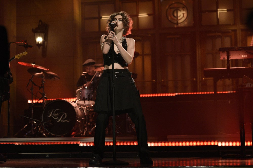 "King Princess Sings ""1950"" and ""Hit the Back"" on SNL"