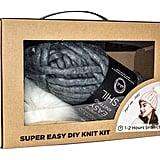 Pom Pom Beanie DIY Knit Kit