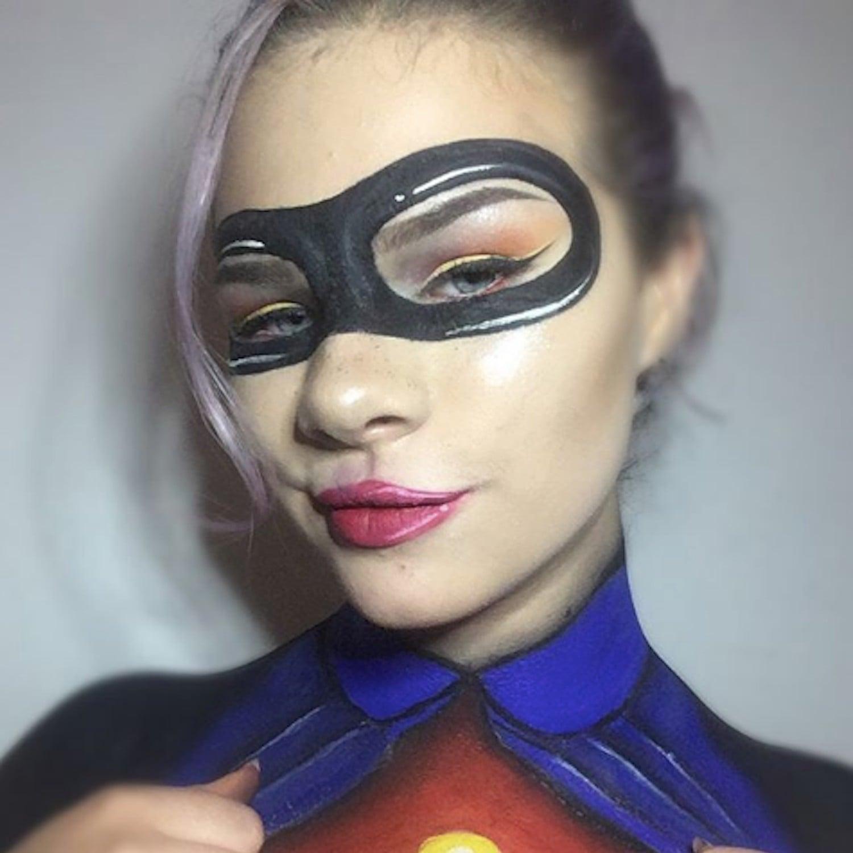 incredibles halloween makeup popsugar beauty