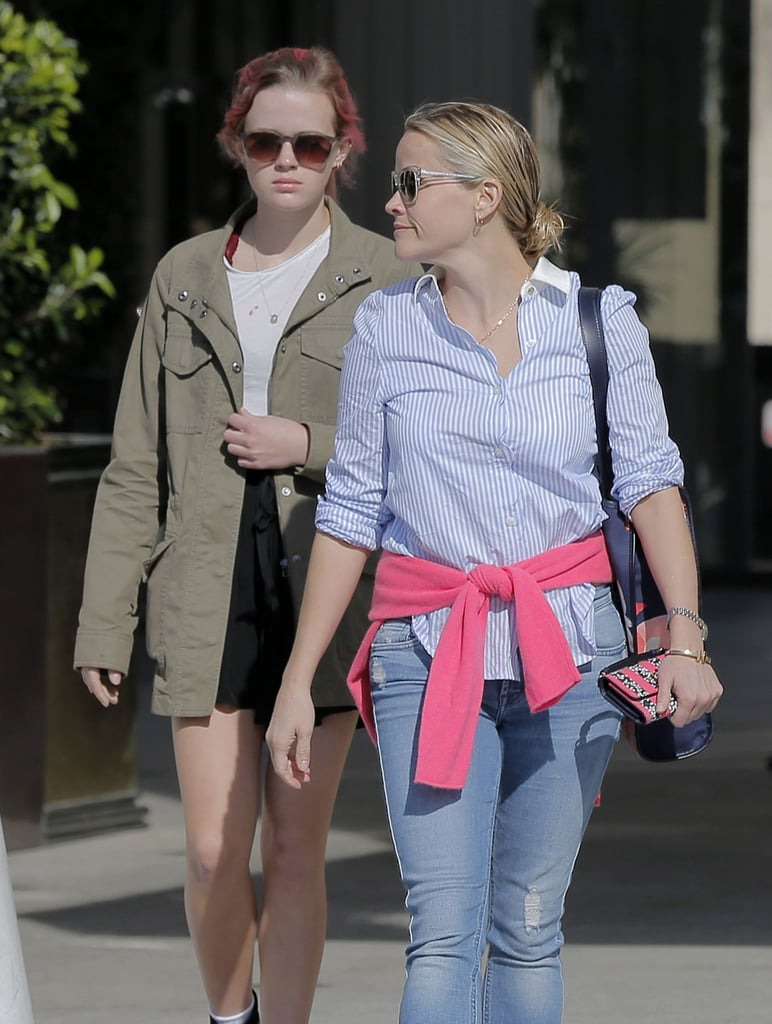 Reese Witherspoon and Ava Phillippe Are Complete Opposites in LA