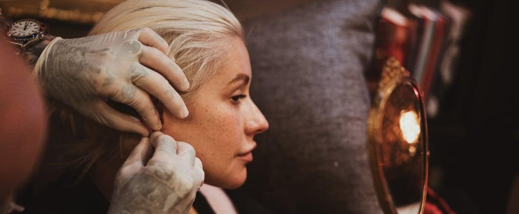 Christina Aguilera No-Makeup Photo April 2018