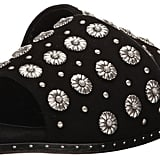 The Kooples Buckskin Flip-Flops With Nail Detail Women's Sandals