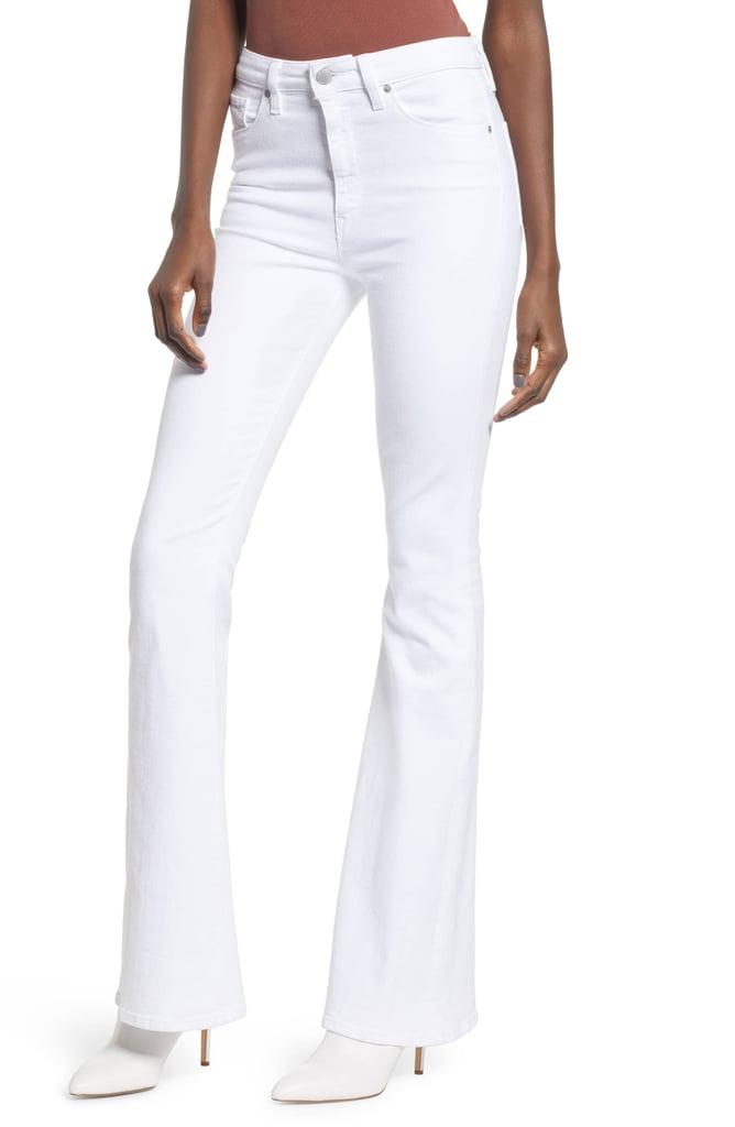 Hudson Jeans Holly High Waist Flare Jeans Jennifer Lopez