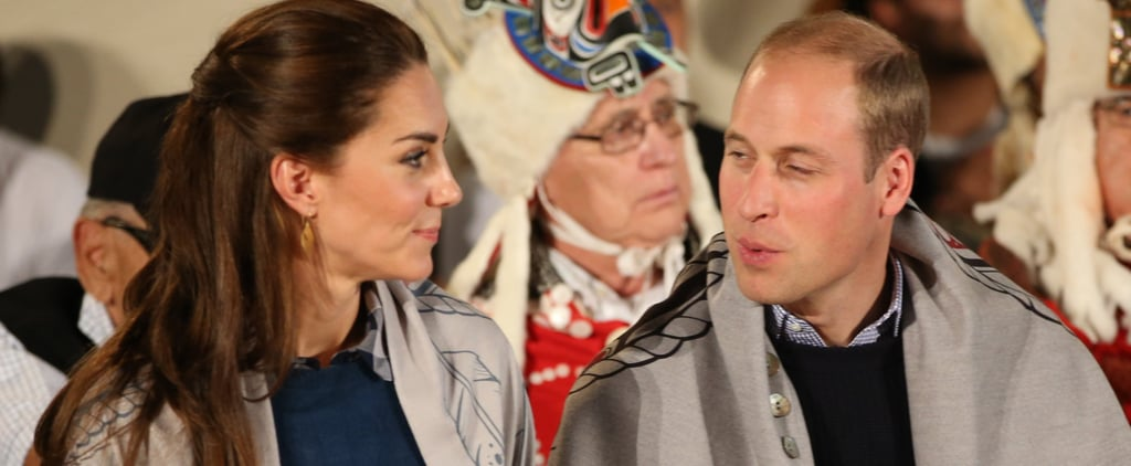 The Duke and Duchess of Cambridge Present a Special Honour on Their Canadian Tour