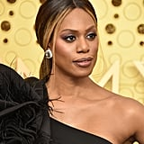 Laverne Cox Talks LGBTQ+ Rights on the Emmys Red Carpet