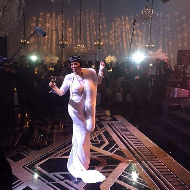 kris jenner s 60th birthday party pictures popsugar celebrity