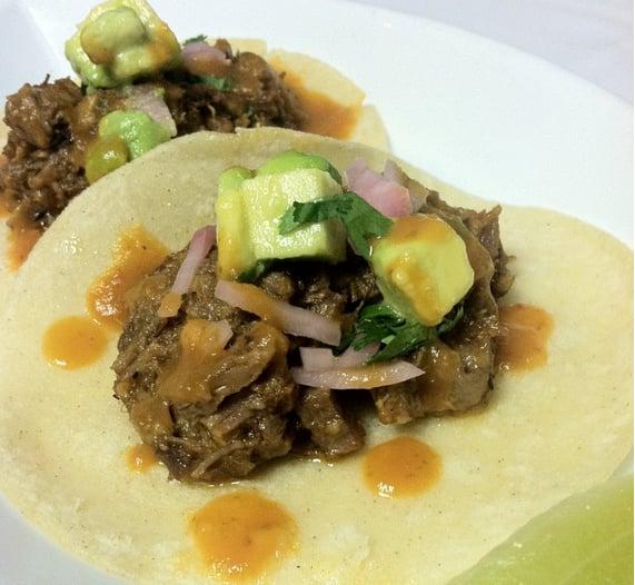 Brisket Matzo Tacos