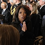 Oprah Winfrey celebrated her big honor after receiving a Presidential Medal of Freedom.