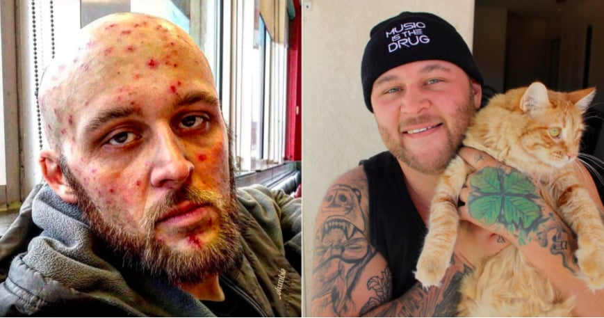 Cat Helps Recovering Addict
