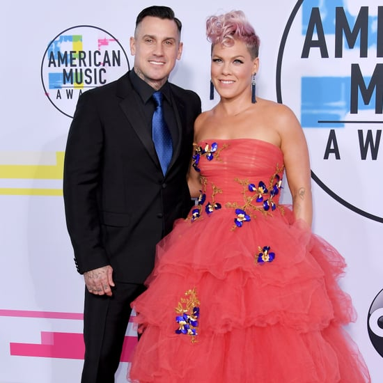 Pink and Carey Hart at the 2017 American Music Awards