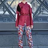 Natalia Vodianova at Louis Vuitton Fall 2019