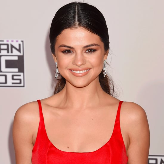 Selena Gomez Hair and Makeup at American Music Awards 2016