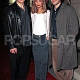 Paul Rudd attended a charity benefit with Calista Flockhart and Paul Eldard in Dec. 1999.