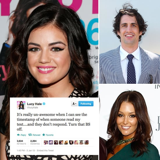 Tweets of the Week: Lucy Hale, Andy Lee, Erin McNaught & More!