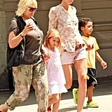 Heidi Klum and her mom, Erna, were out in NYC.