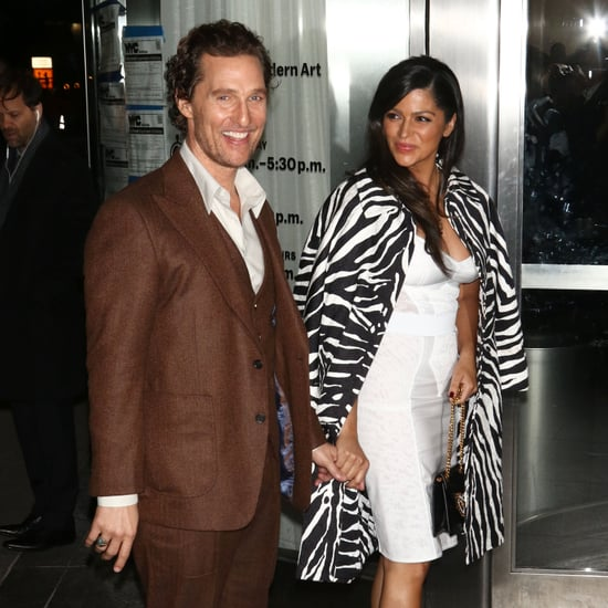Matthew McConaughey and Camila Alves at Serenity Screening