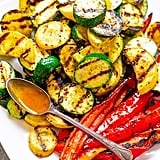 Grilled Vegetables With Smoky Honey Mustard Dipping Sauce