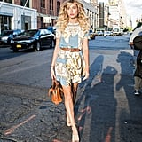 Of Course, the Classic Belted Dress Made a Return