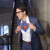 Justin Trudeau, a True Hero, Dressed Up as Clark Kent For Halloween