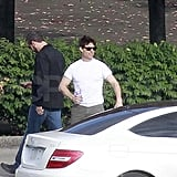Tom Cruise in Pittsburgh for One Shot.