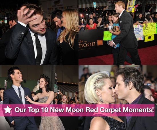 Our Top 10 New Moon Red Carpet Moments!