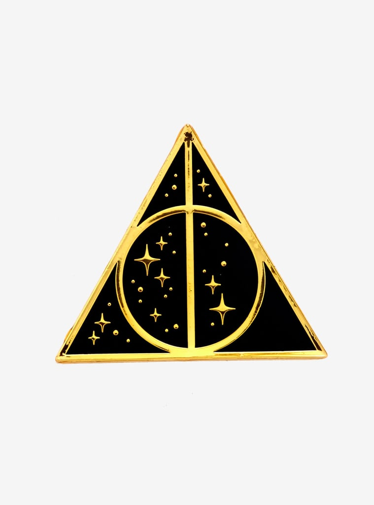 Loungefly Harry Potter Deathly Hallows Glitter Enamel Pin