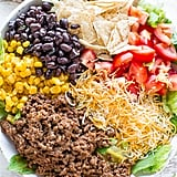 Loaded Beef Taco Salad