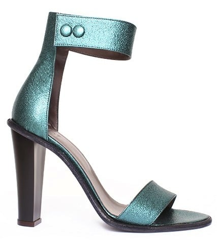 We're thinking this slightly sparklier emerald Tibi Barbara heels ($285, originally $475) lend themselves to a punchier Spring-minded palette. How cute would these be with a chiffon floral-printed dress paired with a blazer?
