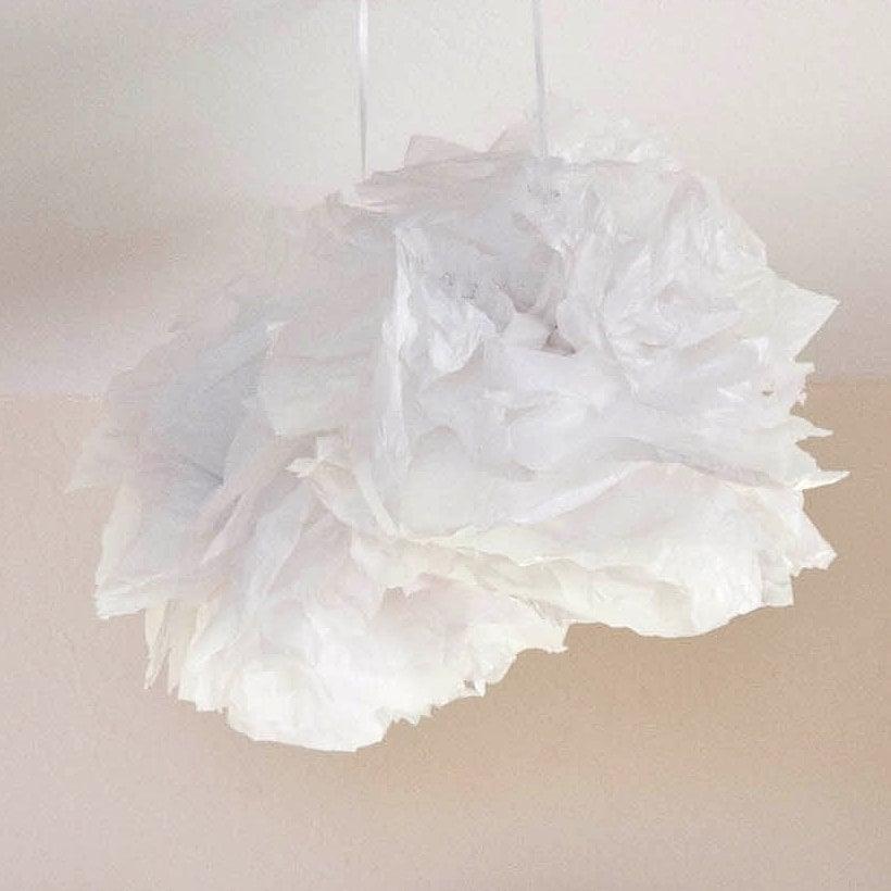Plastic Bag Pom-Poms