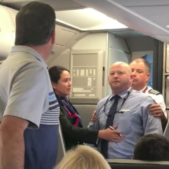 American Airlines Flight Attendant Confrontation Video