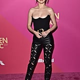 Selena's Gold Studded Sandals