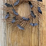 Rustic Bat Wreath