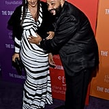 Nicole Tuck and DJ Khaled at the 2019 Diamond Ball