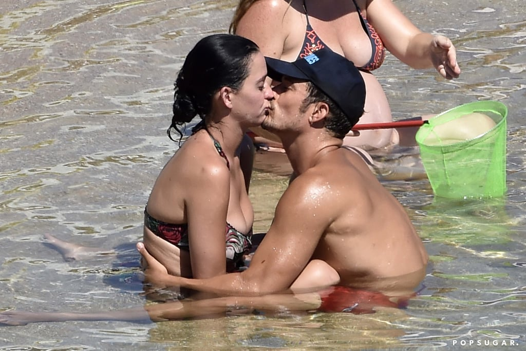 Katy Perry and Orlando Bloom Vacation in Italy August 2016