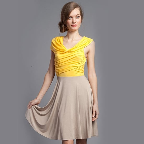 Plenty Baby Chick/Wicker Twist Cowl Frock, $215