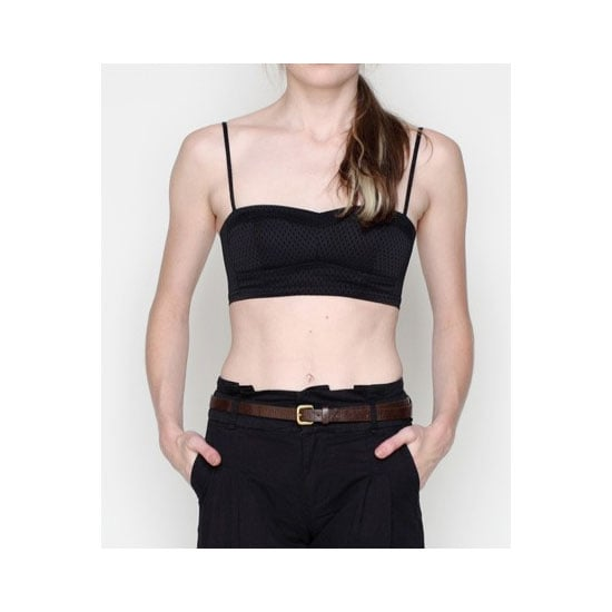 The word 'bralette' takes me back to primary school, but not this version by Alexander Wang! I love its subtle black pattern and it will be perfect to wear under my Summer tops with slightly larger armholes. — Jess, PopSugar editor Bralette, approx $180, T by Alexander Wang at Need Supply Co.