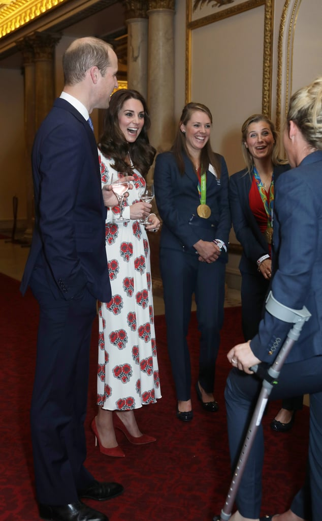 Team GB Olympics Reception at Buckingham Palace, October 2016