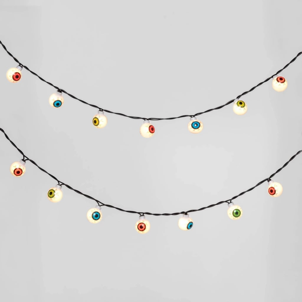 Incandescent Eyeball Halloween String Lights